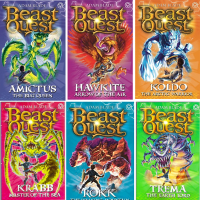 Beast Quest: Series 5 Pack (6 Books) RRP £29.94 • 11.44£
