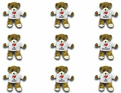 I Love My... 7  Teddy Bear Variation • 8.99£