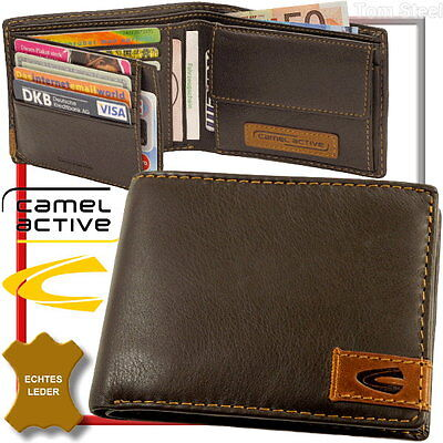 Camel Active Men's Wallet MEN'S Wallet Purse Money Pouch New • 42.19£