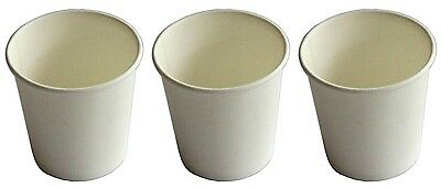 AU24.99 • Buy 500 Cups 4oz White Single Wall Paper Coffee Cup 118ml Disposable Party Serveware