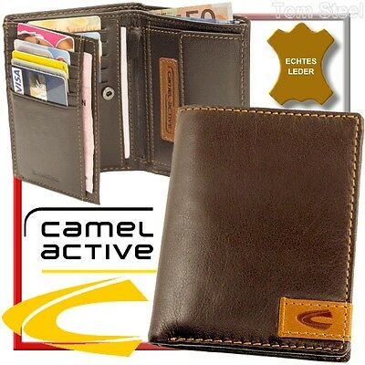 Camel Active Men's Wallet Purse Wallet Leather New • 46.84£