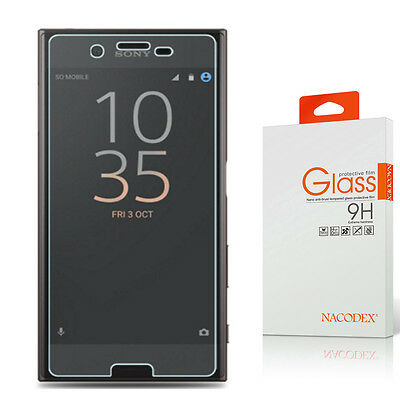 AU8.47 • Buy Nacodex HD Tempered Glass Screen Protector For Sony Xperia XZ Premium 5.5 Inch