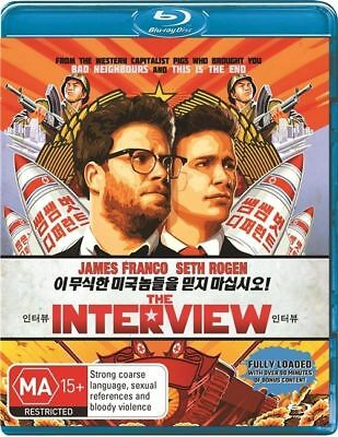 AU14.43 • Buy *Brand New & Sealed* The Interview (Blu-ray, 2015) James Franco, Seth Rogen