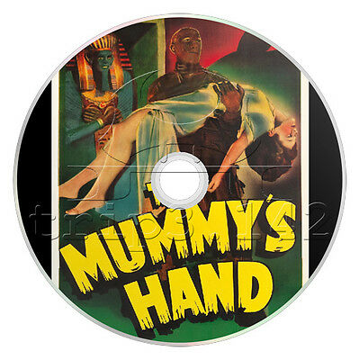 The Mummy's Hand (1940) Adventure, Fantasy, Horror Film / Movie On DVD • 3.99£