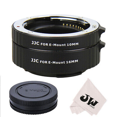 AU52.18 • Buy Automatic Extension Tube Kit For Sony E-mount Lens A6500 A6400 A6300 A6000 A5100