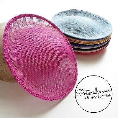 £7 • Buy Oval Scallop Sinamay Fascinator Hat Base For Millinery, Hat Making