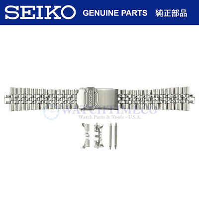 $ CDN46.65 • Buy Genuine SEIKO 22 Mm Jubilee Bracelet + Spring Bars (C220FS) F/ SKX007 SKX009