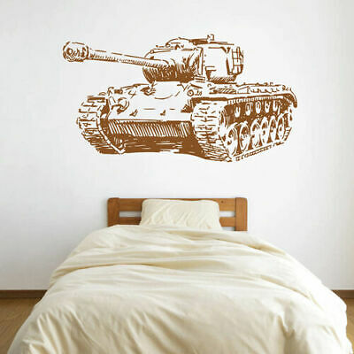 $28.99 • Buy Ik1610 Wall Decal Sticker Tank Military Equipment US Army Children's Bedroom