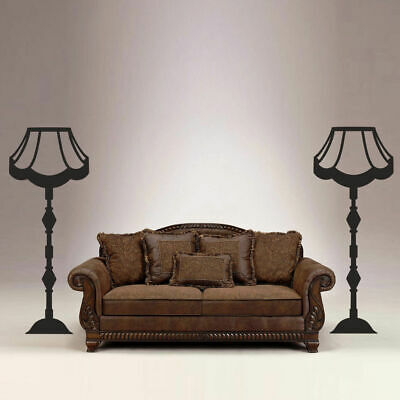 £19.82 • Buy I101 Wall Decal Sticker Sofa Chandelier Lamp Vintage Furniture Classics Mural