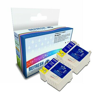 Refresh Cartridges Value Pack T007/t008 Ink Compatible With Epson Printers • 10.77£