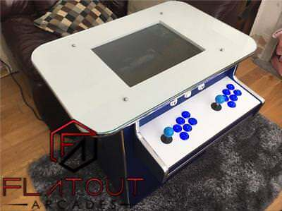 £895 • Buy Arcade Cocktail Table Machine 1300 Retro Games 2 Player Gaming Cabinet UK Made