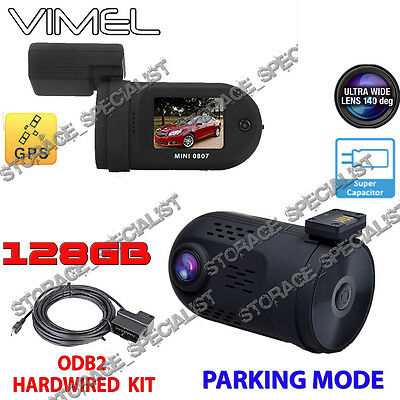 AU189.95 • Buy Security Camera For Car Parking Mode GPS  Hardwired Super Capacitor Backup