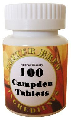 £7.50 • Buy 100 Campden Tablets - WIne Making - Home Brewing - Water Treatment