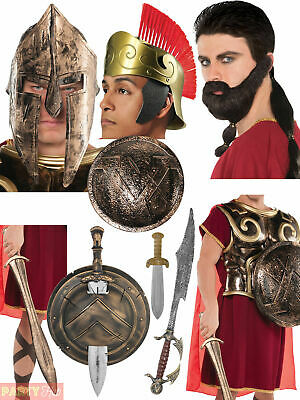 £8.95 • Buy Adults Warrior Costume Accessories Mens Ladies Roman Spartan Fancy Dress Outfit