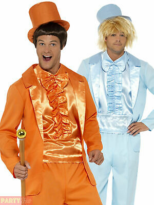 AU50.81 • Buy Mens 90s Dumb And Dumber Costume Adult Tuxedo Suit + Hat 90s Fancy Dress Outfit