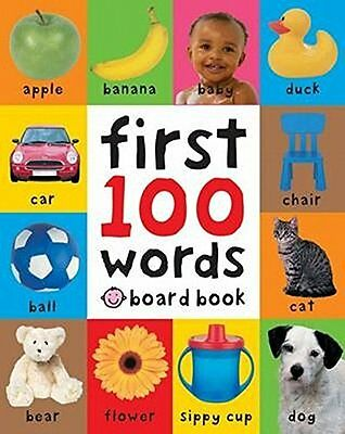 £6.09 • Buy First 100 Words Soft To Touch Board Books Hardcover