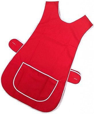 Top Quality Ladies Home / Work Tabard Tabbard Apron With Single Large Front And • 6.29£