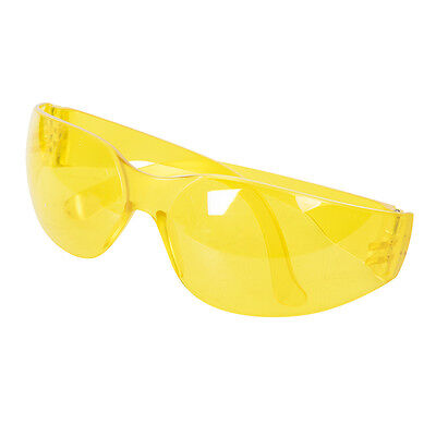 Silverline 309636 Safety Glasses UV Protection Yellow • 1.42£