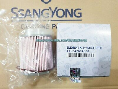 AU117.17 • Buy Genuine Fuel Filter Element Kit For  Ssangyong ACTYON SPORTS  2012~  #2247634000