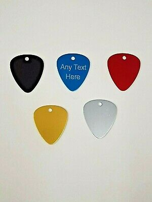 $ CDN5.65 • Buy Personalised Custom Engraved Guitar Pick Plectrum GUITARIST BIRTHDAY GIFT