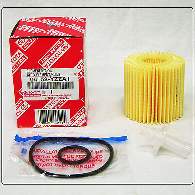 $8.99 • Buy TOYOTA OEM Engine-Oil Filter 04152-YZZA1 For Scion Avalon Camry Highlander Venza