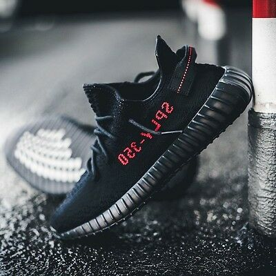 $ CDN896.38 • Buy 2017 Adidas Yeezy Boost 350 V2 Kanye West Bred Core Black Red Nmd R1 Cp9652 10