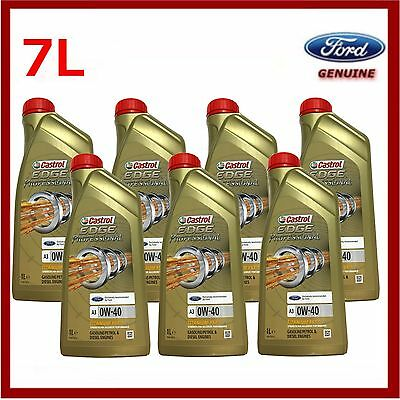 Genuine Ford Focus RS Castrol Edge Fully Synthetic 0W40 Engine Oil 7 Litres • 49.95£