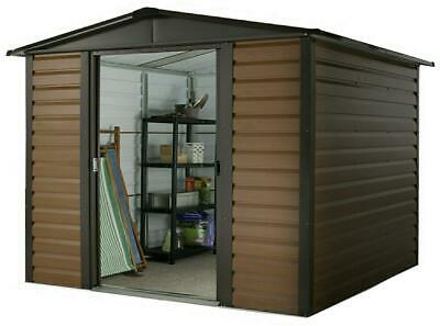 Yardmaster 10 X 12 Woodview Shiplap Apex Metal Shed - Assembly Service Available • 709.29£