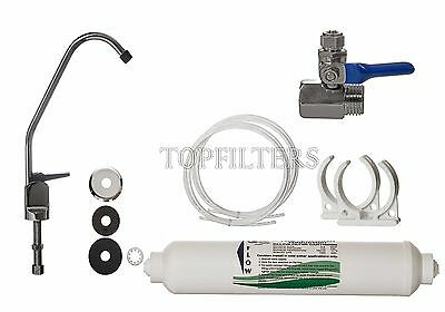 £18.45 • Buy Tap Drinking Water Filter System With Faucet & Accessories Under Sink Filter Kit