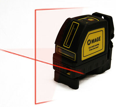 $49.99 • Buy 98 Ft Mage Cross Line Laser Level Auto Leveling Horizontal Vertical DeWalt Range