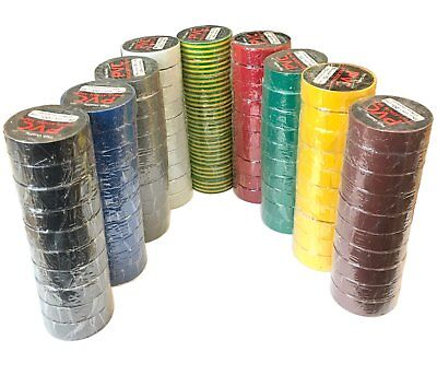 £7.99 • Buy PVC Insulation Electrical Tape Flame Retardent Various Colours And Pack Sizes