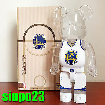 $259.99 • Buy Medicom 400% Bearbrick ~ Milk Magazine X NBA Golden State Warriors Be@rbrick