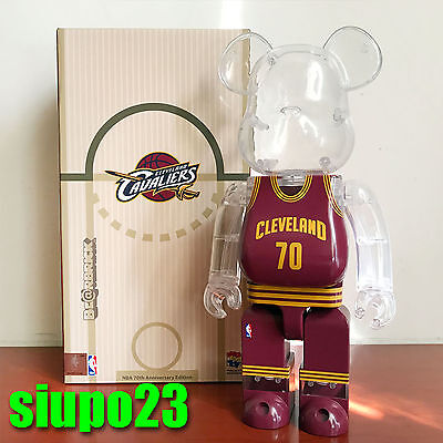 $179.99 • Buy Medicom 400% Bearbrick ~ Milk Magazine X NBA Cleveland Cavaliers Be@rbrick