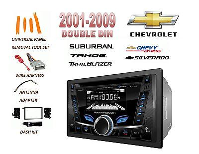 $125.99 • Buy 2001-2012 Chevrolet Silverado Tahoe Suburban Bluetooth Mp3 Usb Car Stereo