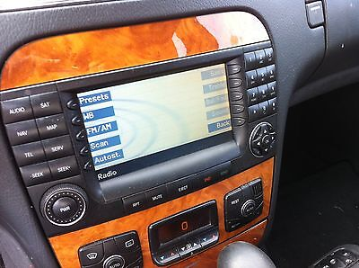 $995 • Buy 2004-2006 Mercedes-Benz W220 S430 S500 S65 AMG Navigation Screen Monitor Radio