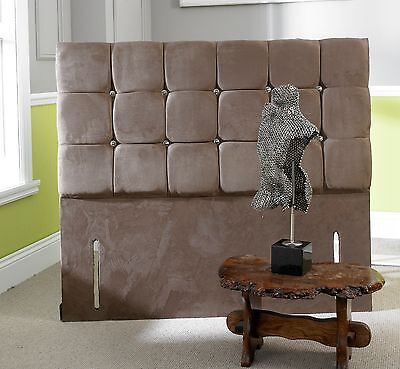 Lavish New Mars Floor Standing Headboard Upholstered Faux Suede 3ft/4ft/4ft6/5ft • 169.99£