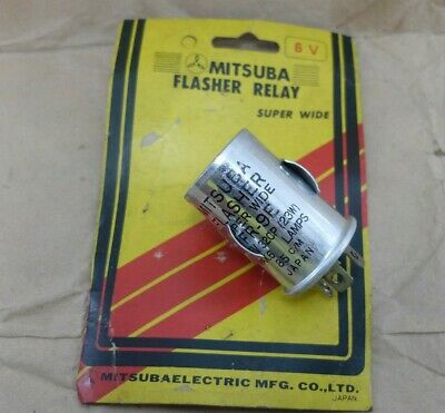AU26.70 • Buy Mitsuba Flasher Super Wide FR-9E 6V 32CP (23W) MAX 6 LAMPS 85 C/M NOS Japan