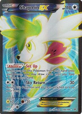 Shaymin Ex Full Art Compare Prices On Dealsancom
