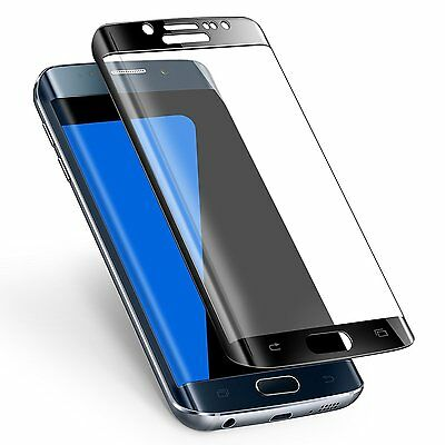 $ CDN7.25 • Buy Full Cover Real Tempered Glass Screen Protector Film For Samsung Galaxy S7 Edge