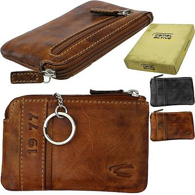 Camel Active Vintage Key Case Pouch Key Wallet Key Exchange • 20.50£