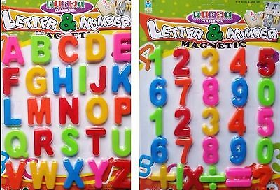 £2.25 • Buy Magnetic Numbers And Letters Learning Toy Refrigerator Magnets Maths Alphabet