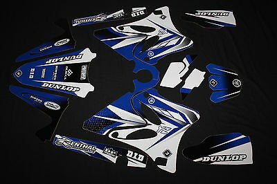 AU122 • Buy Yamaha Yz 125-250 2006-2014  Pts Two Flu Mx Graphics Kit Decals Kit Stickers Kit