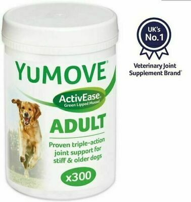 Lintbells YuMove Yumove Joint Support Stiff Old Dogs Glucosamine 300 Tablets  • 48.99£