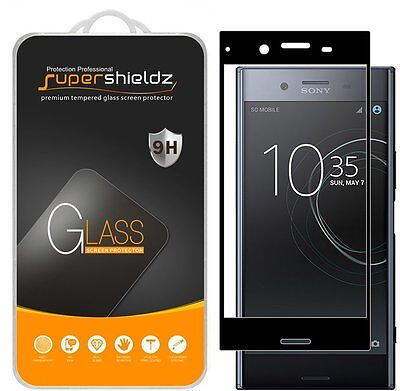 AU11.46 • Buy Full Cover Tempered Glass Screen Protector For Sony Xperia XZ Premium