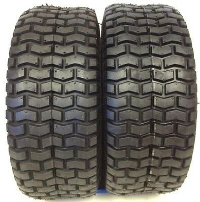 £41.70 • Buy TWO LAWN 15X6X6 NHS 15X6.00-6 Turf Tires Garden Tractor Lawn Mower Riding Mower