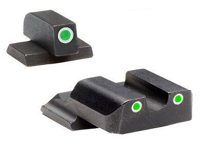 $67.52 • Buy Ameriglo S&W M&P Shield Tritium Sight Set With White Outline Rings-SW-145