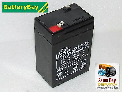 £10.50 • Buy 6V 4AH Replacement Battery For Peg Perego Toy Car