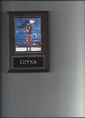 $ CDN3.79 • Buy Chyna Plaque Wrestling Wwe Wwf