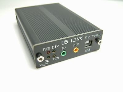 AU89.30 • Buy U5 USB PC Linker Adapter For YAESU FT-818 FT-817ND 857D 897D CAT CW Data SQL CTS