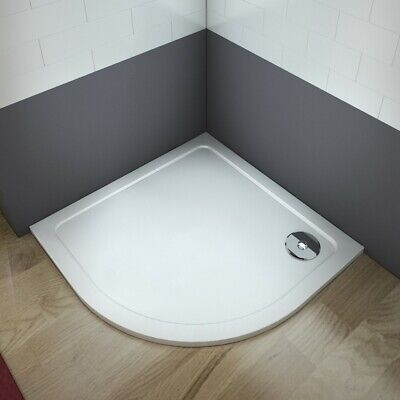 Quadrant Stone Resin Tray+Waste 30 Mm Height  For Shower Enclosure Doors Cubicle • 53.99£